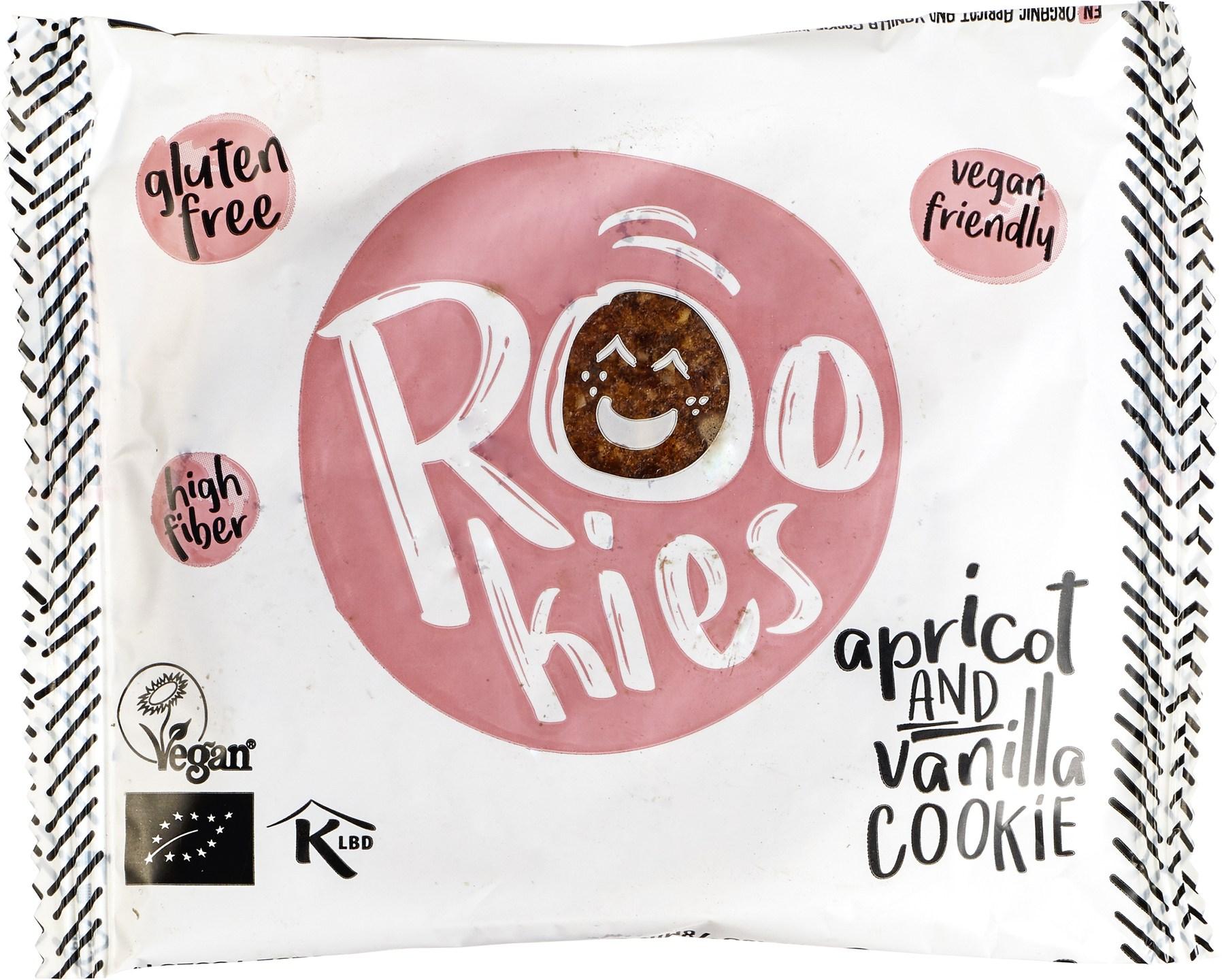 Biologische Rookies Apricot & Vanilla 40 gr