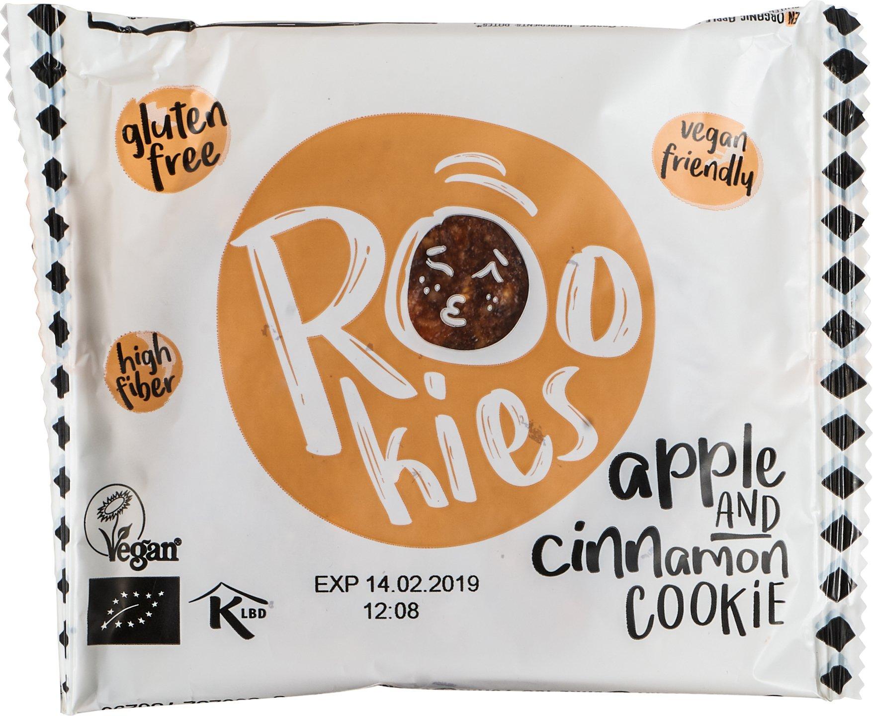 Biologische Rookies Apple & Cinnamon 40 gr