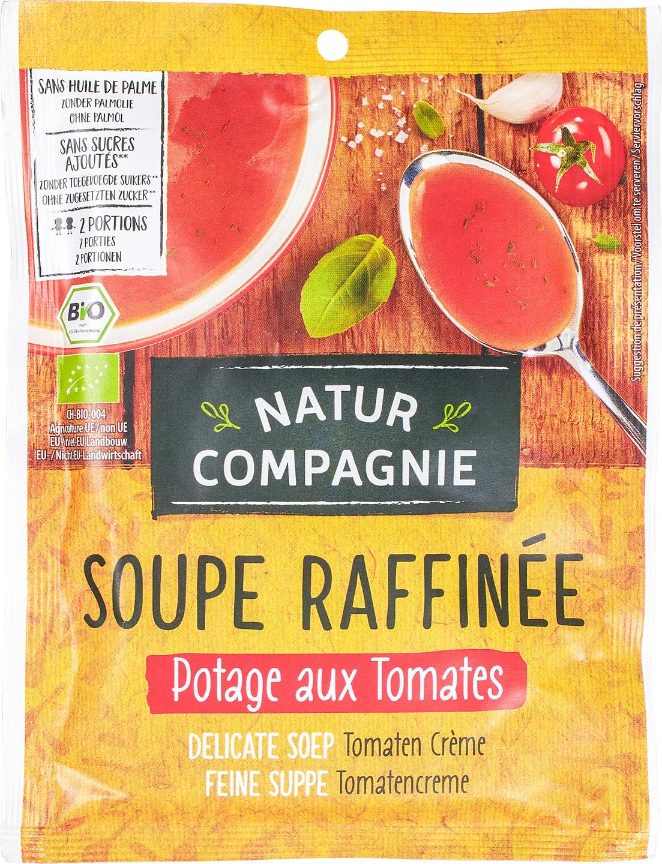 Biologische Natur Compagnie Tomatencrèmesoep instant 2-kops 40 gr