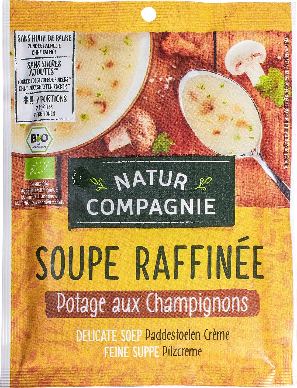 Biologische Natur Compagnie Champignoncrèmesoep instant 2-kops 40 gr