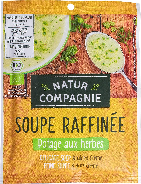 Biologische Natur Compagnie Kruidencrèmesoep instant 2-kops 38 gr