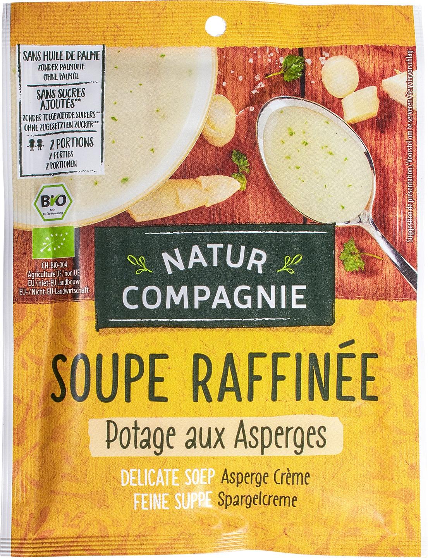 Biologische Natur Compagnie Aspergecrèmesoep instant 2-kops 40 gr