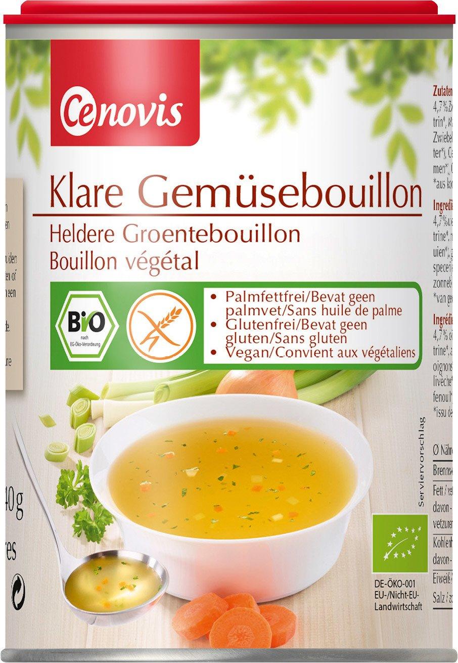 Biologische Cenovis Heldere groentebouillon 240 gr