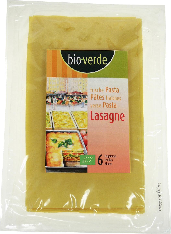 Biologische Bioverde Verse pasta lasagne 200 gr
