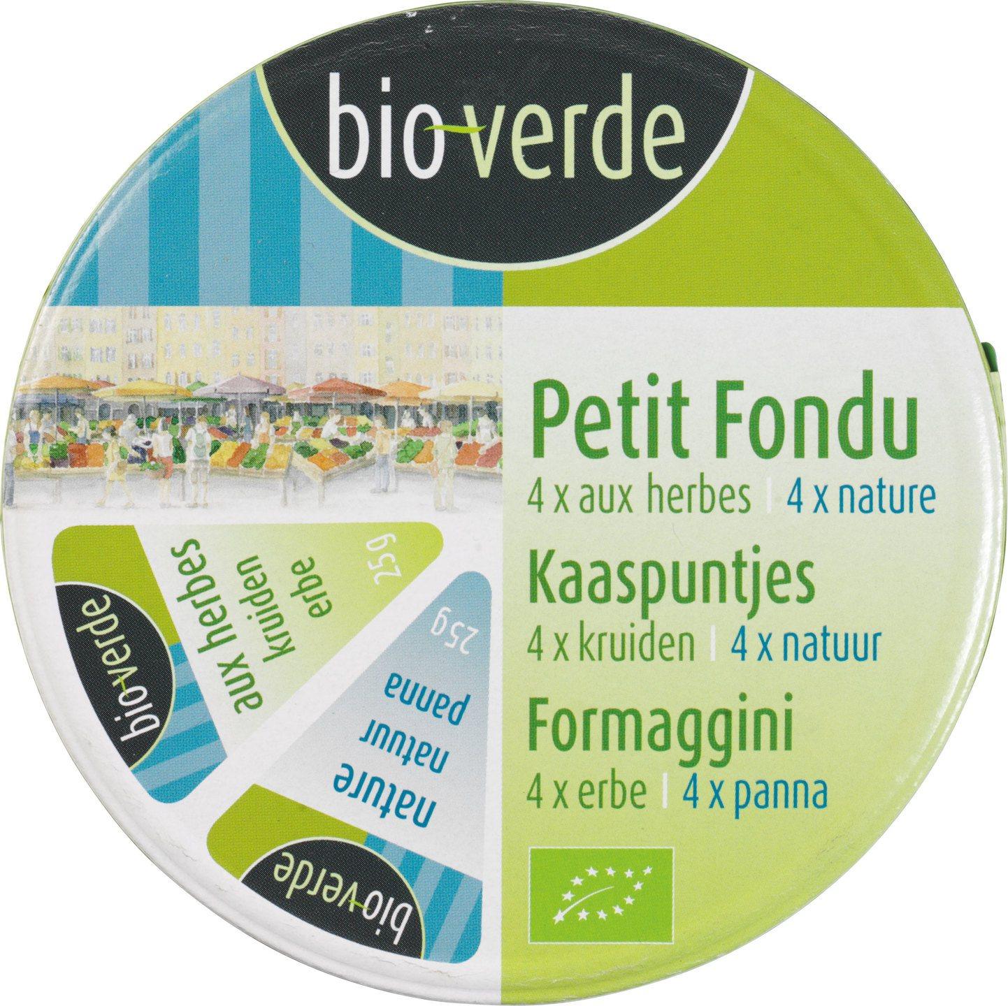 Biologische Bioverde Kaaspuntjes met kruiden mix 200 gr