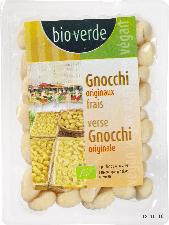 Biologische Bioverde Verse gnocchi originale 400 gr