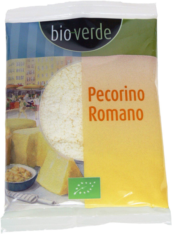 Biologische Bioverde Pecorino Romano geraspt 40 gr