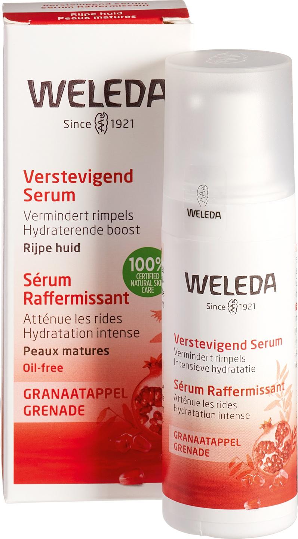 Biologische Weleda Gezichtsserum granaatappel - rijpere huid 30 ml