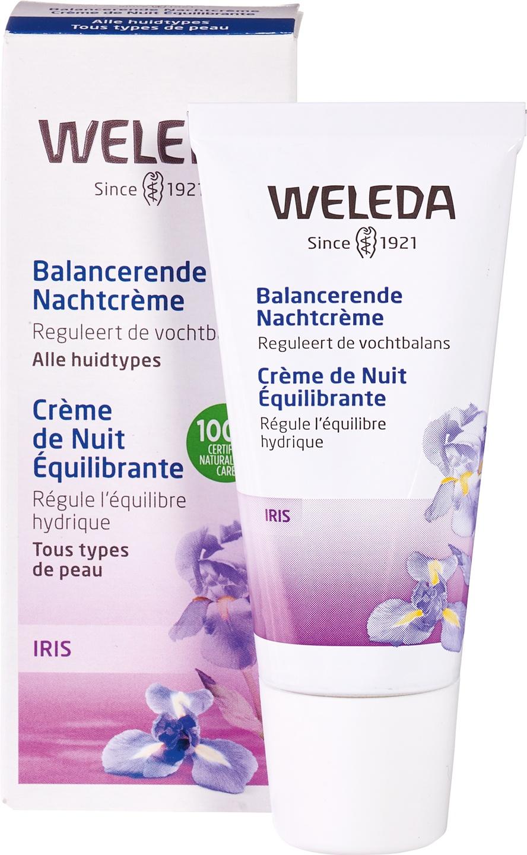 Biologische Weleda Nachtcrème iris - droge huid 30 ml
