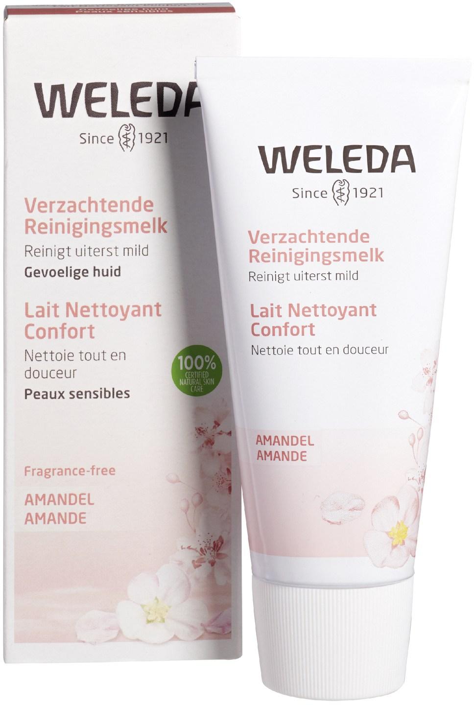 Biologische Weleda Reinigingsmelk amandel - gevoelige huid 75 ml
