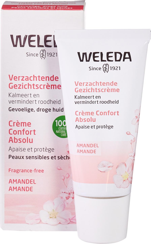 Biologische Weleda Dag- en nachtcrème amandel - gevoelige & droge huid 30 ml