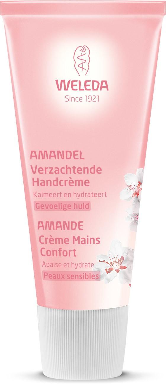 Biologische Weleda Amandel verzachtende handcrème 50 ml
