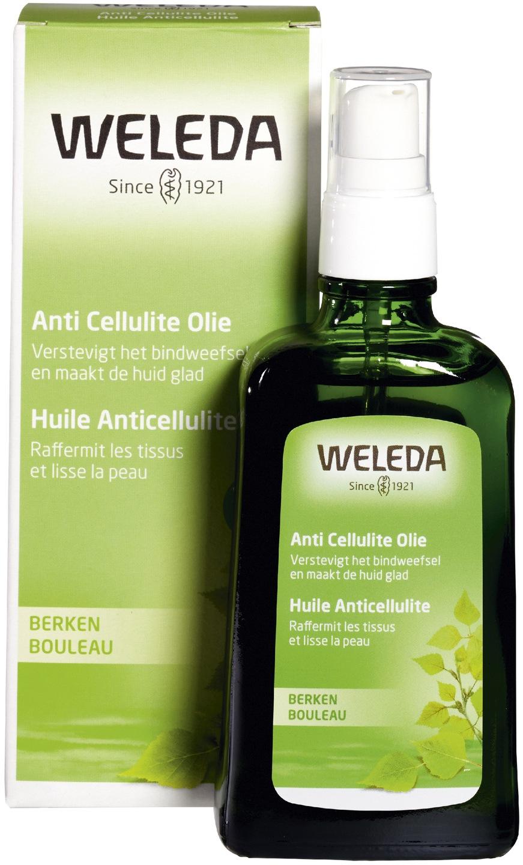 Biologische Weleda Berken cellulitis olie 100 ml