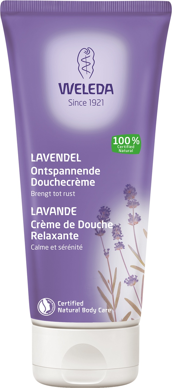 Biologische Weleda Lavendel ontspannende douchecrème 200 ml