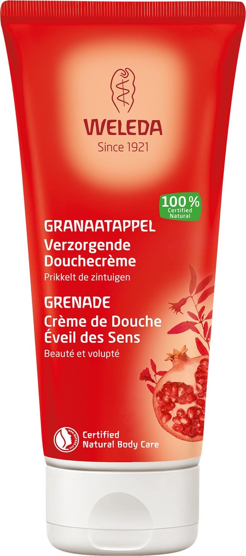 Biologische Weleda Granaatappel verzorg douchecrème 200 ml