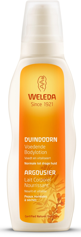 Biologische Weleda Duindoorn voedende bodylotion 200 ml