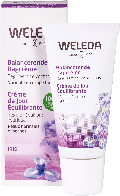 Biologische Weleda Dagcrème iris - droge huid 30 ml