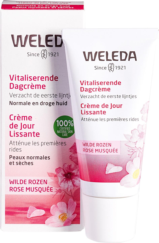 Biologische Weleda Dagcrème wilde rozen - droge & normale huid 30 ml