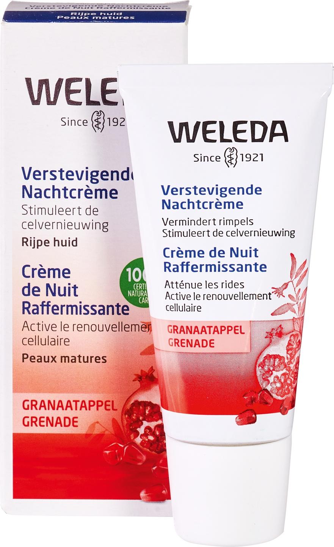 Biologische Weleda Nachtcrème granaatappel - rijpere huid 30 ml