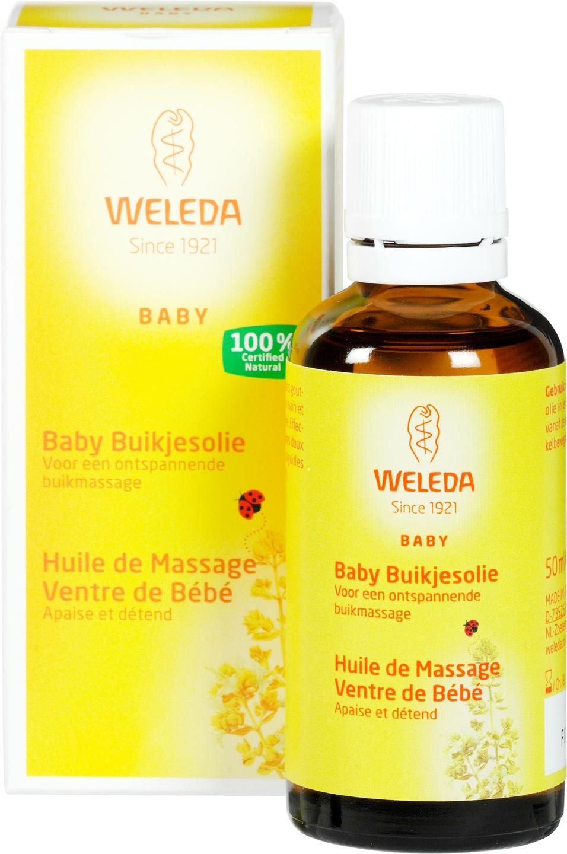 Biologische Weleda Baby buikjesolie 50 ml
