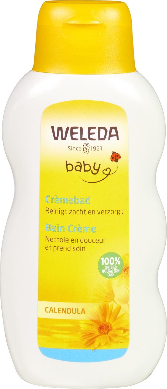 Biologische Weleda Baby crèmebad calendula 200 ml