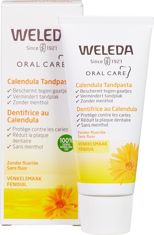 Biologische Weleda Tandpasta calendula 75 ml