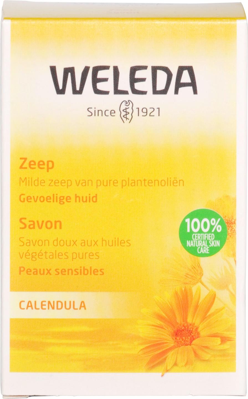 Biologische Weleda Calendula plantenzeep 100 gr