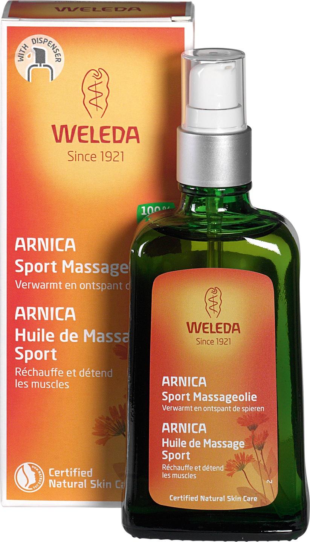 Biologische Weleda Arnica massageolie 100 ml