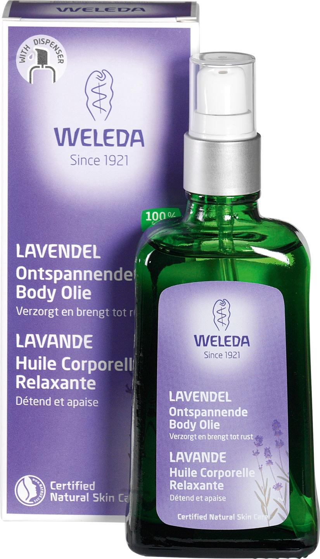 Biologische Weleda Lavendel ontspanningsolie 100 ml
