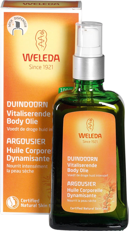 Biologische Weleda Duindoorn vitaliserende huidolie 100 ml
