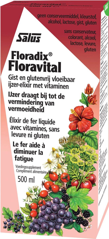 Biologische Salus Floravital 500 ml