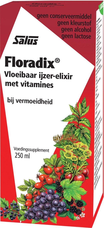 Biologische Salus Floradix ijzer-elixer 250 ml