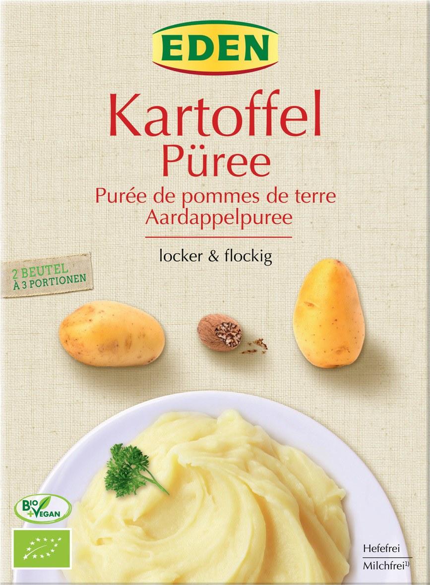 Biologische Eden Aardappel puree 160 gr