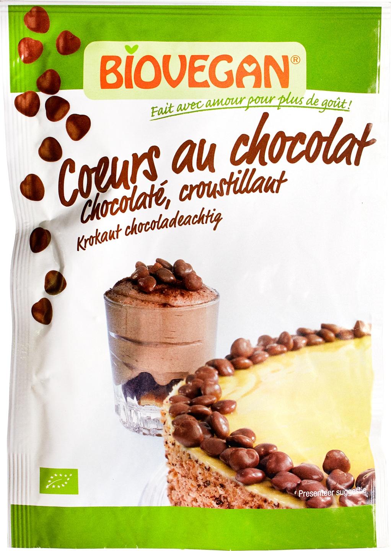 Biologische Biovegan Chocoladehartjes 35 gr
