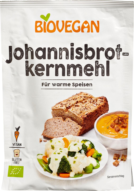 Biologische Biovegan Johannesbroodpitmeel 100 gr