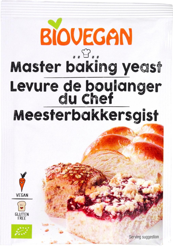 Biologische Biovegan Gist 7 gr