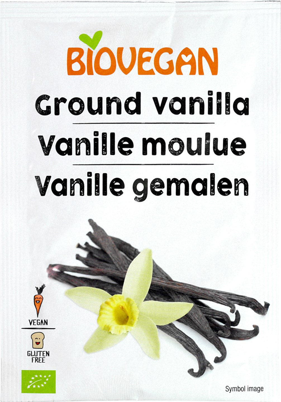 Biologische Biovegan Vanille gemalen GV 5 gr