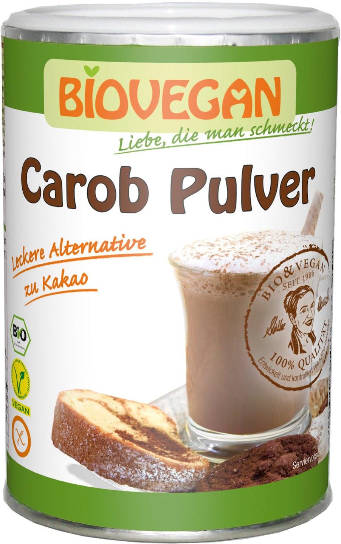 Biologische Biovegan Carobepoeder 200 gr