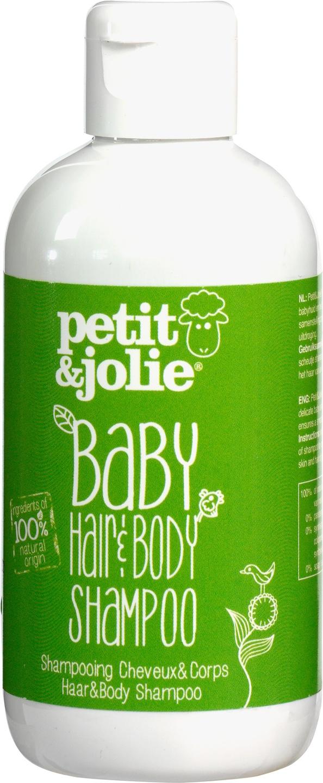 Biologische Petit&Jolie Baby hair & body shampoo 200 ml