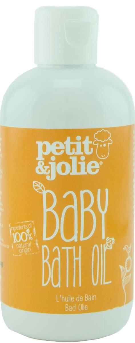 Biologische Petit&Jolie Baby badolie 200 ml