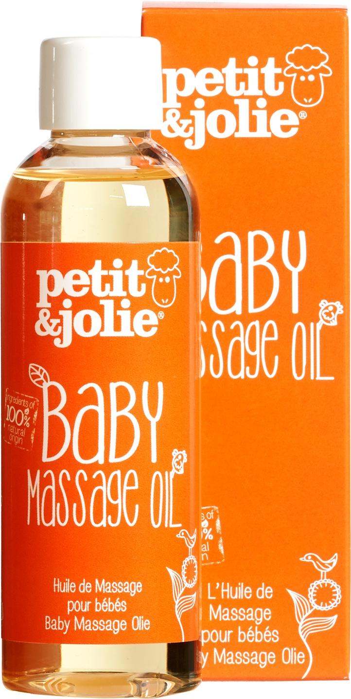 Biologische Petit&Jolie Baby massageolie 100 ml
