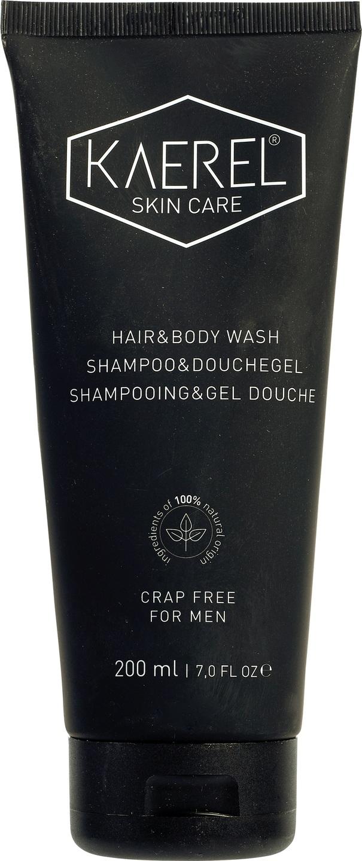 Biologische Kaerel skin care Shampoo & douchegel 200 ml