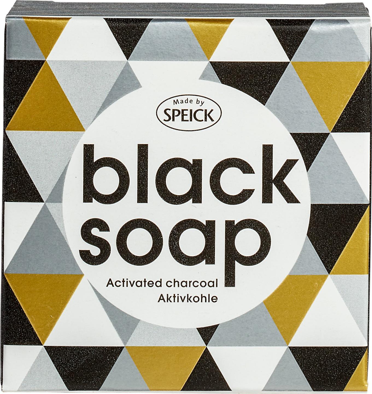 Biologische Made by Speick Zwart zeep 100 gr