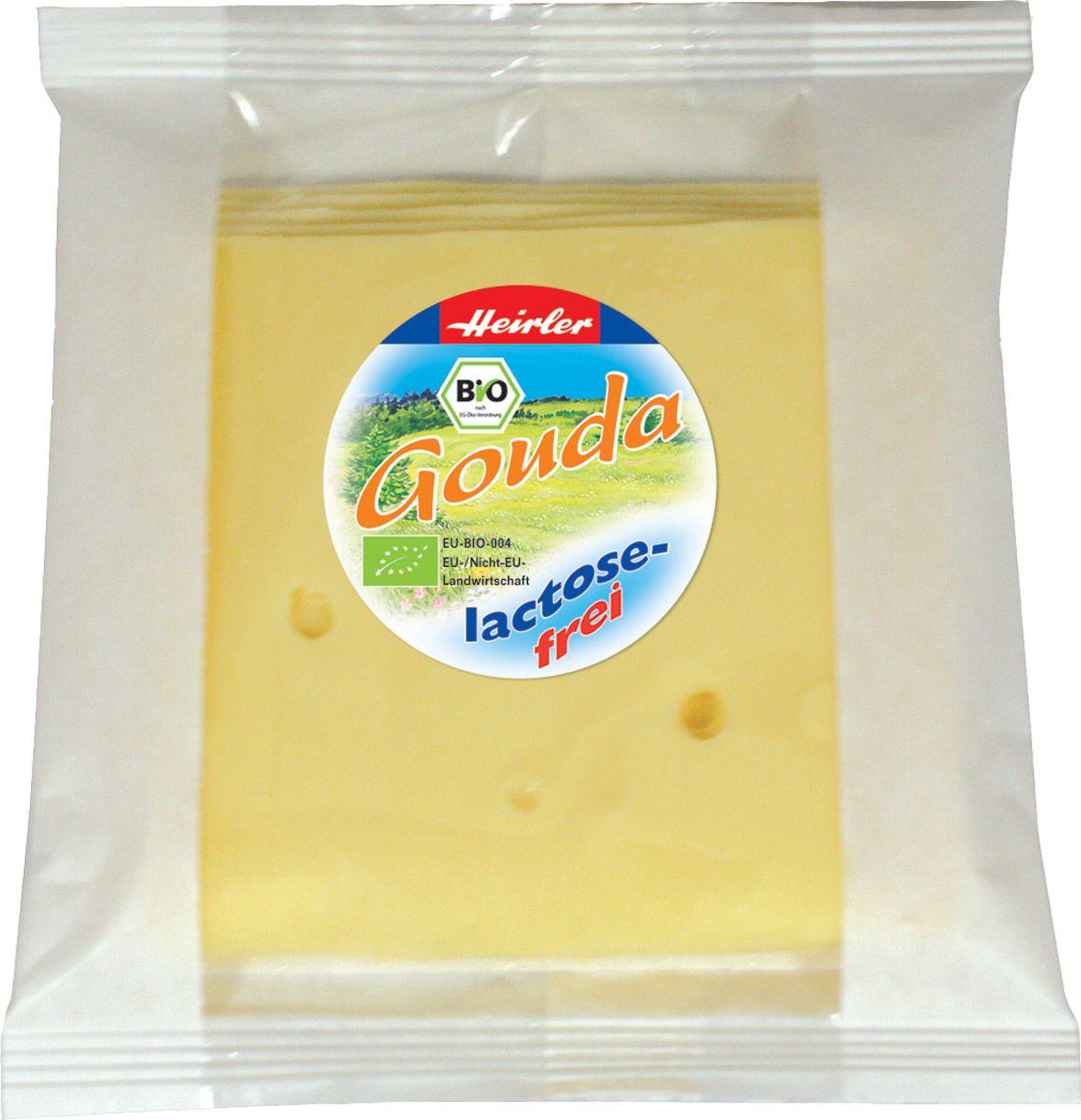 Biologische Heirler Plakjes kaas lactosevrij 48+ 120 gr