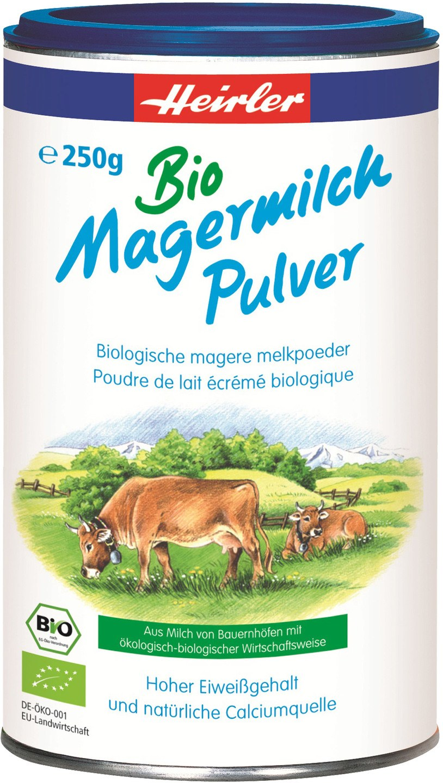 Biologische Heirler Magere melkpoeder 250 gr