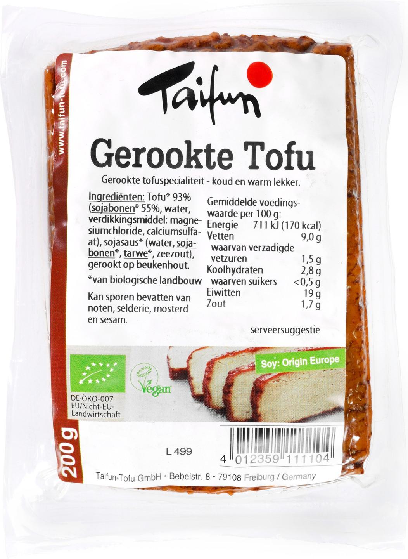 Biologische Taifun Tofu gerookt 200 gr