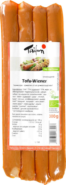 Biologische Taifun Tofu wiener 300 gr