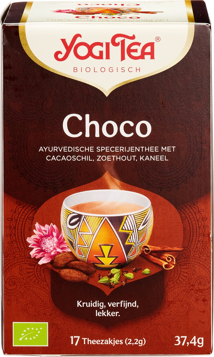 -21% SALE | Biologische Yogi Tea Choco kruidenthee 17 builtjes