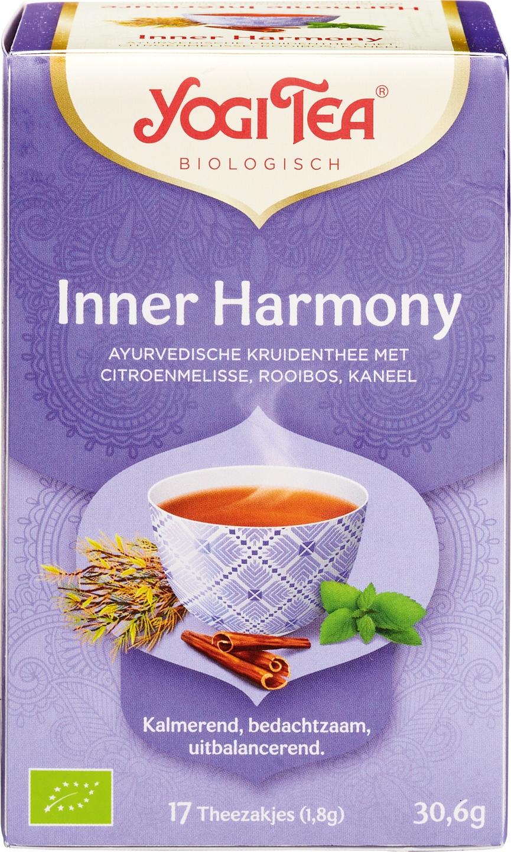 Biologische Yogi Tea Kruidenthee immer harmony 17 builtjes