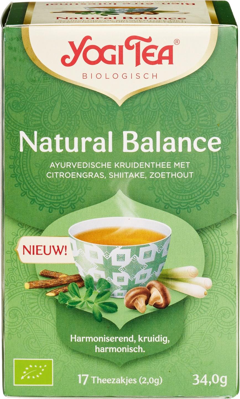 Biologische Yogi Tea Kruidenthee citroengras shiitake 17 builtjes